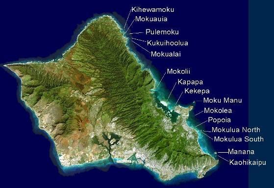 Worksheet. Oahus Offshore Islands