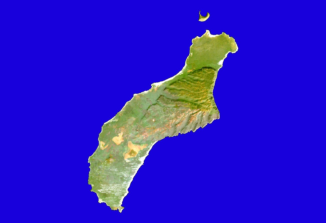 Landsat Stock Maps Maps of Hawaii Maps for entire state and